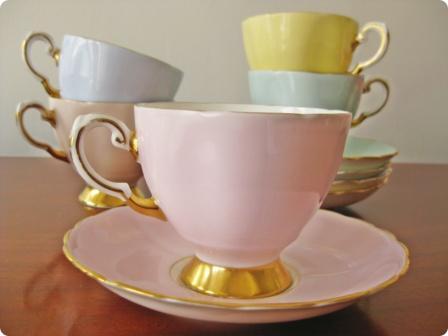 Baddle's teacups