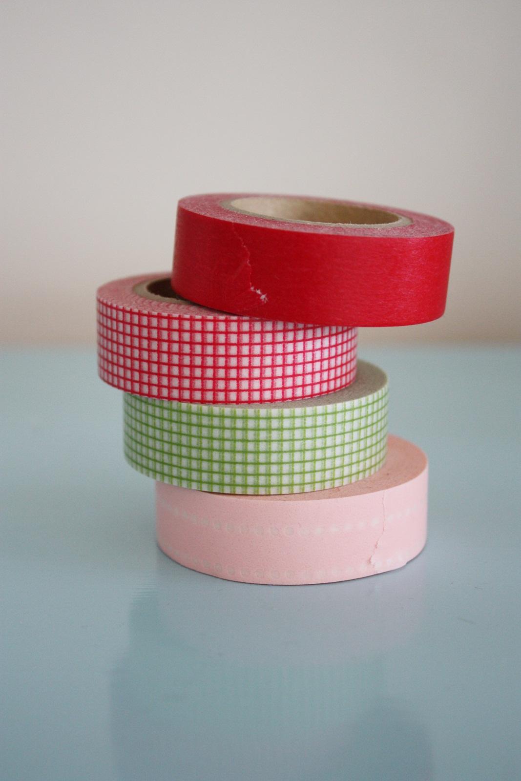 Japanese Masking Tape Washi Tape Magnets A Tutorial