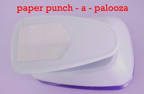 Lilac large paper punch-a-palooza series header