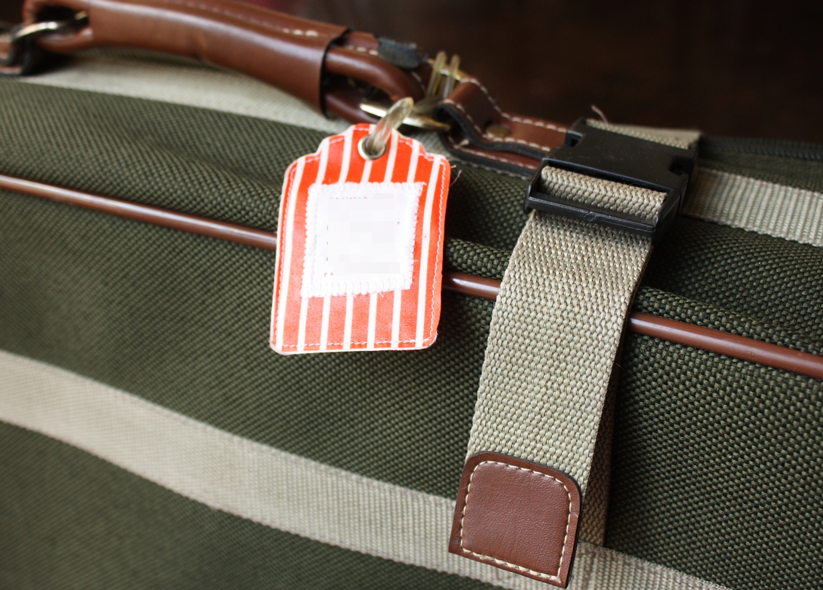 Luggage Tags: Fabric Luggage Tags: A Tutorial : Part 2 In The Paper