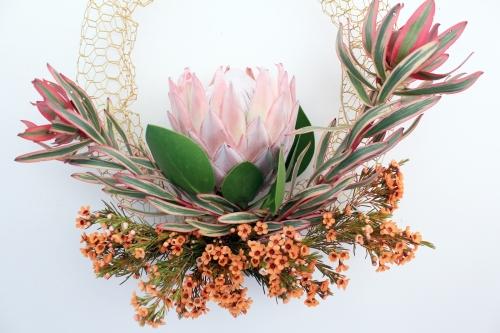 1st living wreath