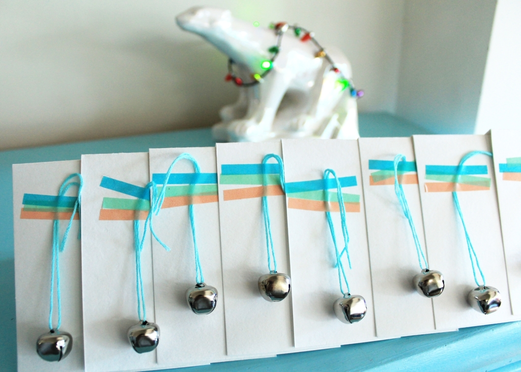 Christmas drinks invitations and Christmasy polar bear