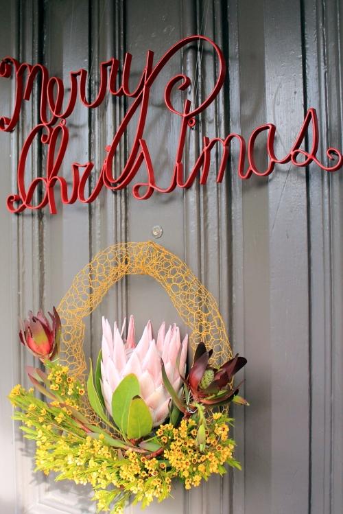 Christmas wreath 2012
