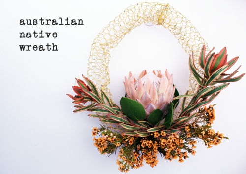 First living wreath
