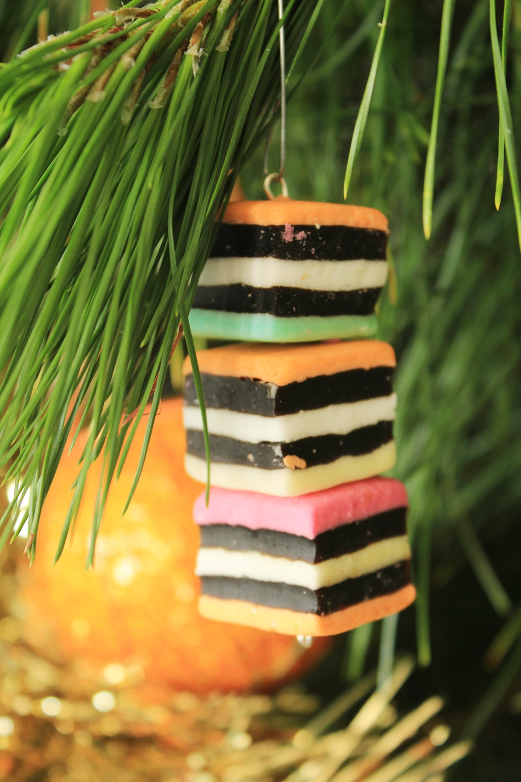 Licorice Allsort decoration