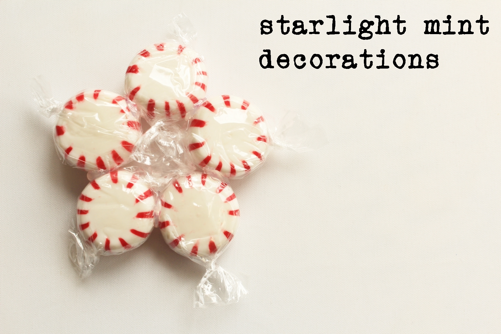 Starlight mint bauble with description