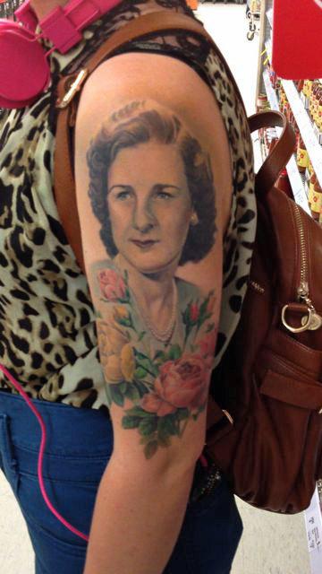 tattoo grandma grandmother baby send permanent grave something early getting tattos tattly tag twirlingbetty