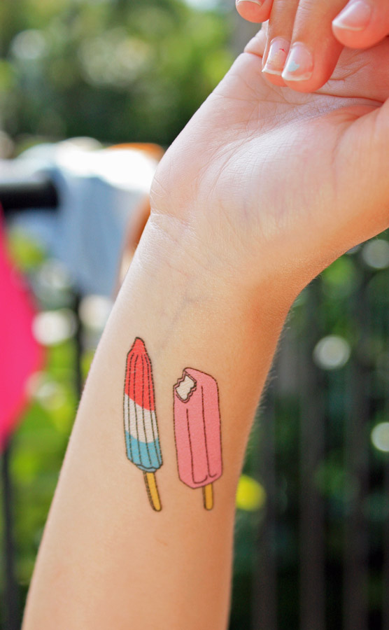 Popsicle tattoos