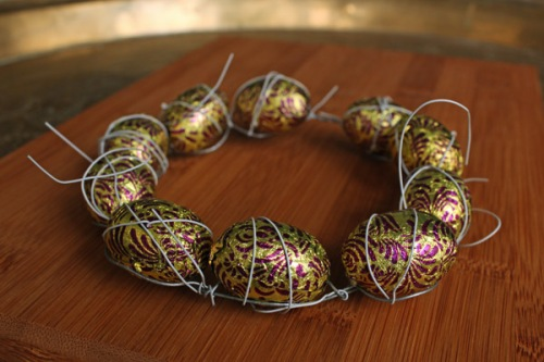Crown of Easter eggs