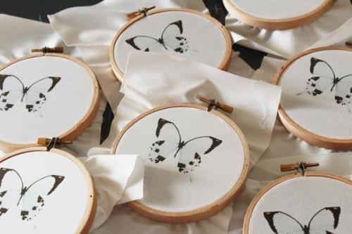 Butterfly hoops