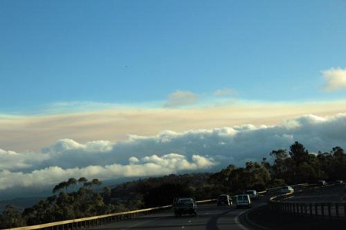 drive into Hobart