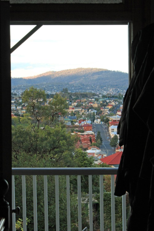 View from the hill Hobart