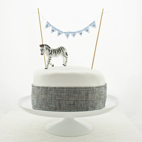 Harrison bunting - plaid cake - square - hi res