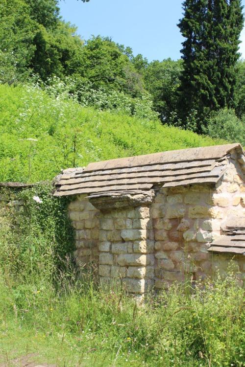Roman ruins - Chedworth Villa