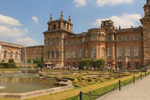 Exterior Blenheim Palace