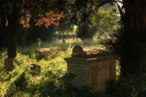 Graveyard Bourton on the Wtaer
