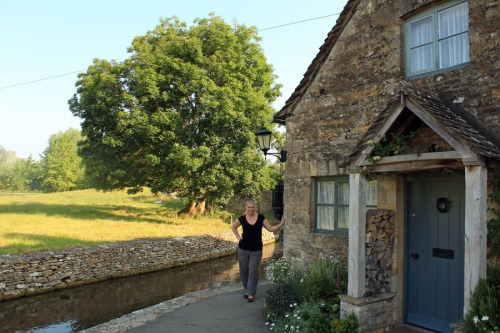 Me in Lower Slaughter