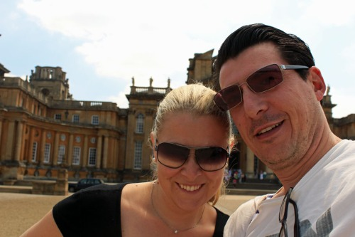 Selfie at Blenheim Palace