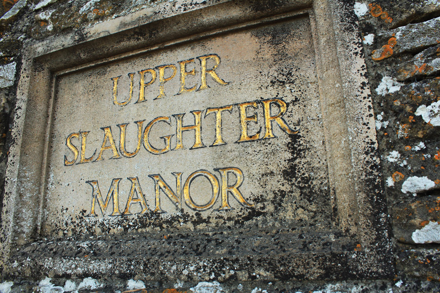 Upper-Slaughter-manor-sign