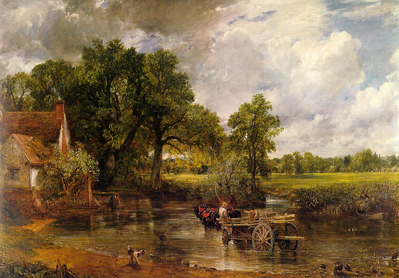 Constable's The Hay Wain