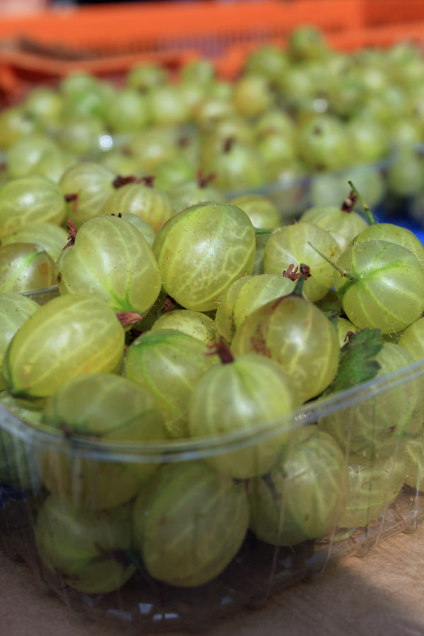 Gooseberries Marlyebone Farmer's Market