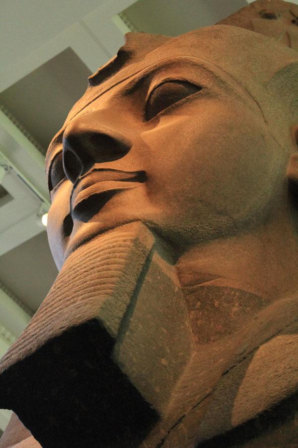 Ramses II statue British Museum
