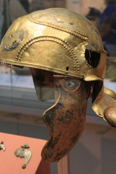 Roman soldier's helmet British Museum