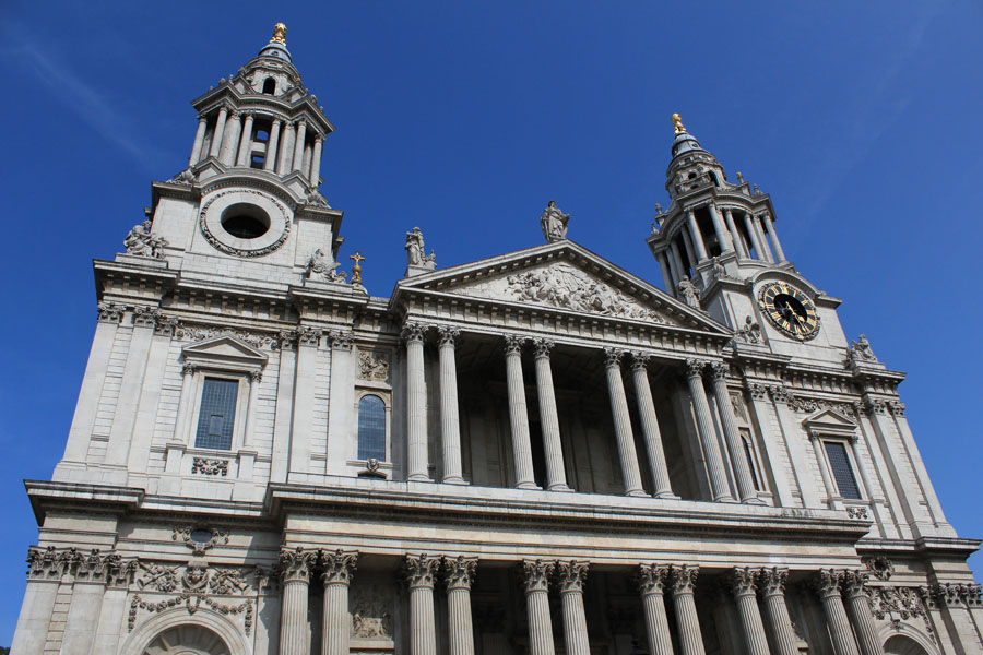 St Paul's Catherdral facade London