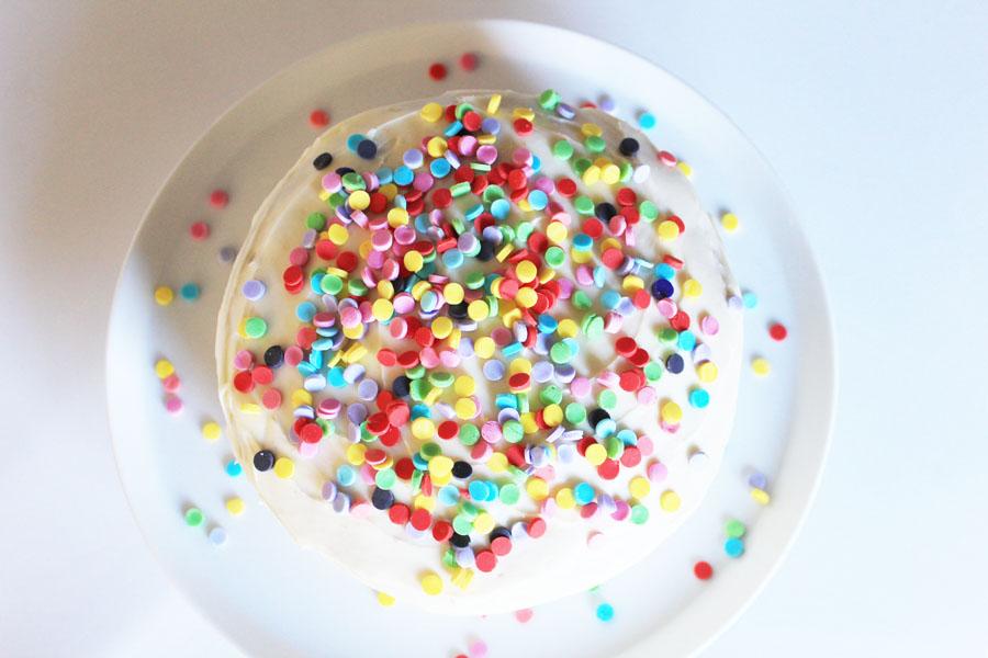 Edible cake confetti 2