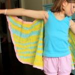 Crepe paper wings