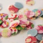 Fabric confetti
