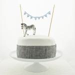 Harrison bunting - plaid cake - square