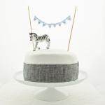 Harrison bunting - plaid cake - square