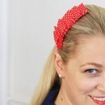 pleated hair accessory
