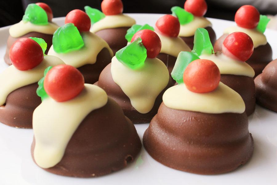 Choc Roayl puddings