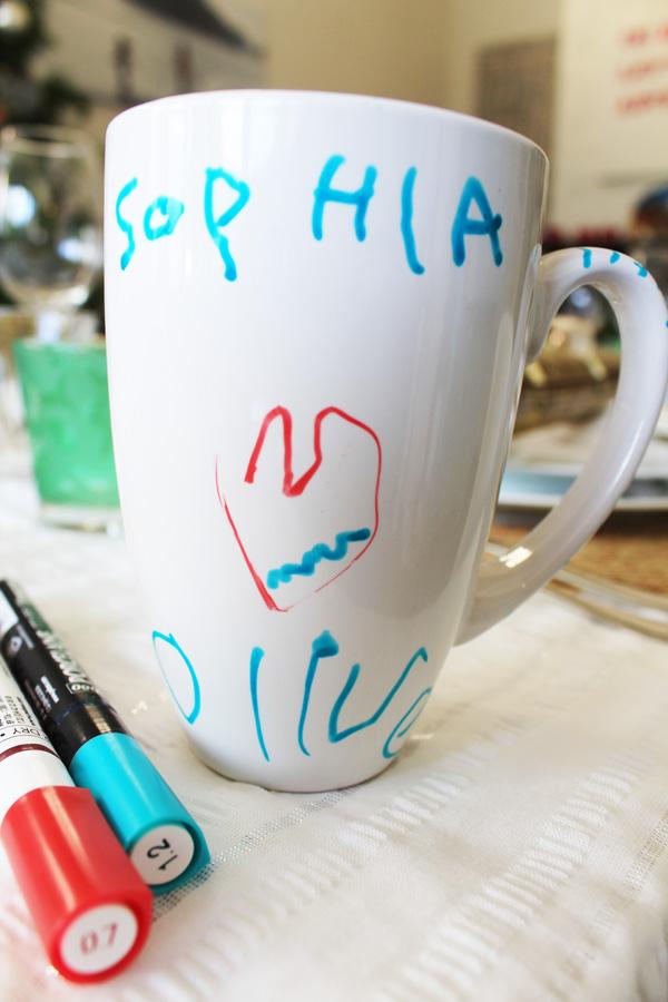 Sophia's sibling present mug